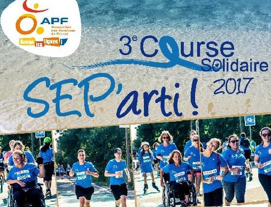 Participer à la course solidaire SEP'arti 2017 !