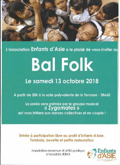 Bal Folk solidaire Association Enfants d'Asie