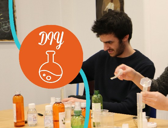 Viens participer à un atelier Do It Yourself cosmétique bio