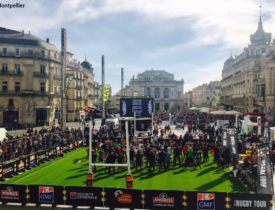 Animer le stand Action contre la Faim au Village du Top 14