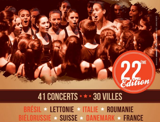 Guides Bénévoles Festival Choral International